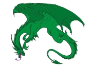 Fierce Green Dragon